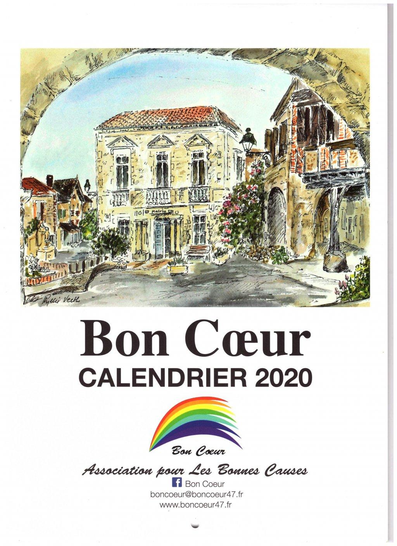 Can Calendrier 2020.Bon Coeur 2020 Calendar Bon Coeur